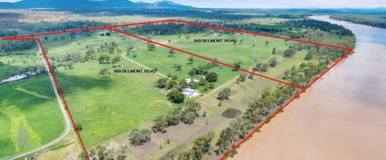 Rural / Farming commercial property for sale at 649 & 669 Belmont Road Glenlee QLD 4711