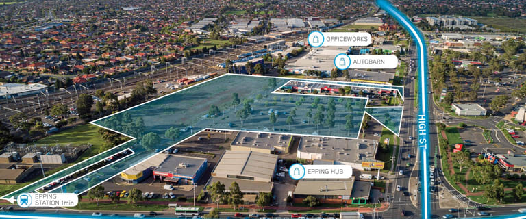 Factory, Warehouse & Industrial commercial property for sale at 592-694 High Street Epping VIC 3076