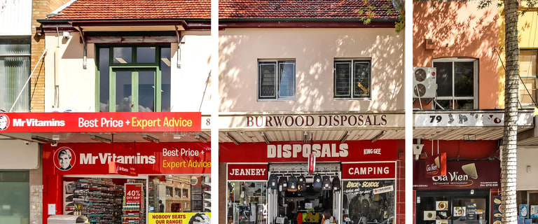 Development / Land commercial property for sale at 81 BURWOOD ROAD Burwood NSW 2134