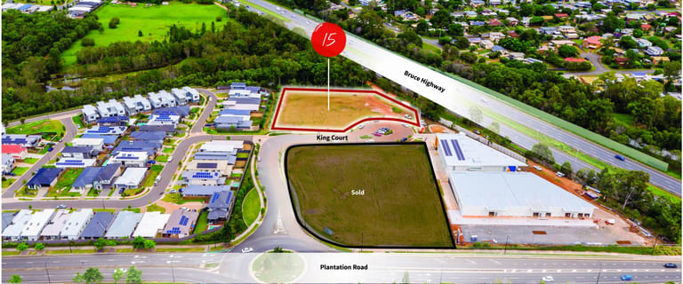 Development / Land commercial property for sale at 15 King Court North Lakes QLD 4509