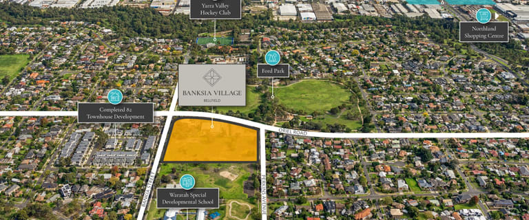 Development / Land commercial property for sale at 232 Banksia Street & 96, 98/98A and 100 Oriel Road, Bellfield Bellfield VIC 3081
