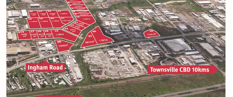 Development / Land commercial property for sale at Lots Bohle Industrial Estate Bohle QLD 4818
