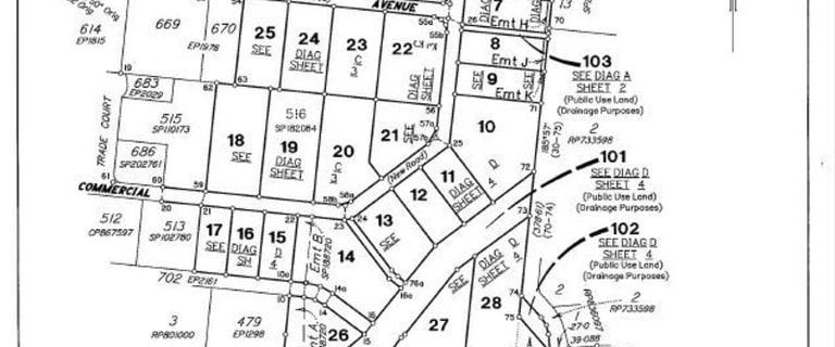 Development / Land commercial property for sale at Lots Bohle Industrial Estate Bohle QLD 4818