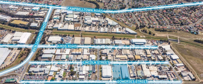 Factory, Warehouse & Industrial commercial property for sale at 43-47 Lincoln Street Minto NSW 2566