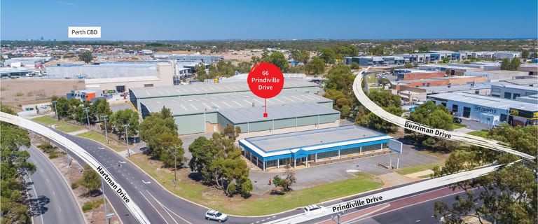 Factory, Warehouse & Industrial commercial property for sale at 66 Prindiville Drive Wangara WA 6065