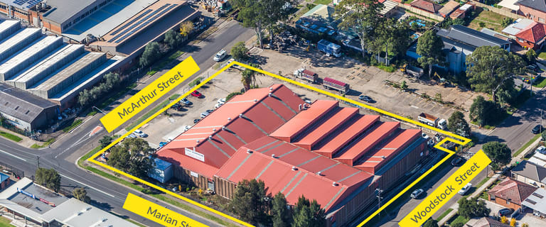 Factory, Warehouse & Industrial commercial property for sale at 69 Woodstock Street Guildford NSW 2161