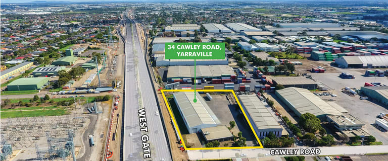 Offices commercial property for lease at 34 Cawley Road Yarraville VIC 3013