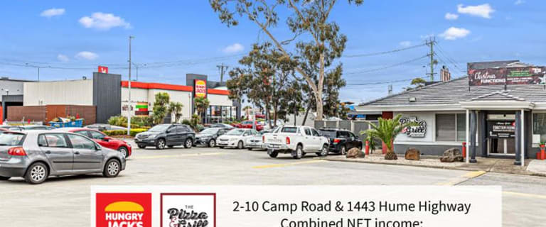 Shop & Retail commercial property for sale at 2-10 Camp Road & 1443 Hume Highway Campbellfield VIC 3061