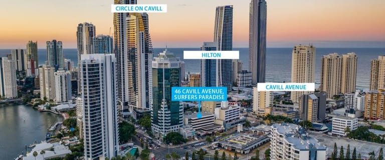 Offices commercial property for sale at 33 and 35/46 Cavill Avenue Surfers Paradise QLD 4217