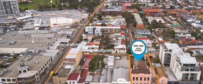 Development / Land commercial property for sale at 340-342 High Street Northcote VIC 3070
