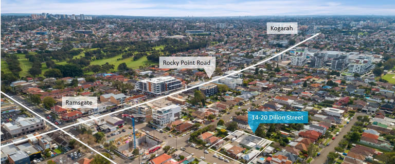 Development / Land commercial property for sale at 14-20 Dillon Street Ramsgate NSW 2217