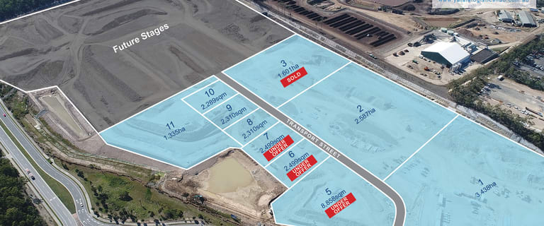 Factory, Warehouse & Industrial commercial property for sale at Yatala Logistics Hub Peachey Road Yatala QLD 4207