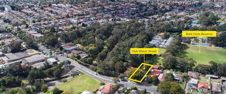 Development / Land commercial property for sale at 36A Water Street Belfield NSW 2191