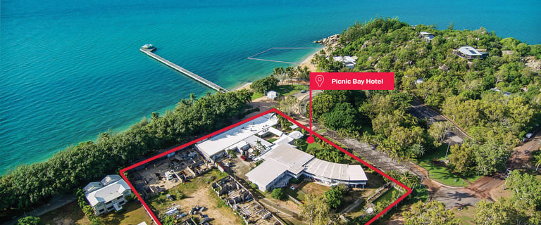 Hotel, Motel, Pub & Leisure commercial property for sale at The Picnic Bay Hotel & Marlin Bar Nelly Bay QLD 4819