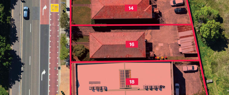 Development / Land commercial property for sale at 14,16 & 18 Pitt Street Parramatta NSW 2150
