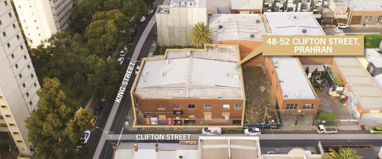 Development / Land commercial property for sale at 48-52 Clifton Street Prahran VIC 3181