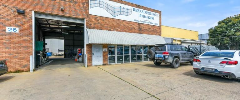 Factory, Warehouse & Industrial commercial property for sale at 26 Swift Way Dandenong South VIC 3175