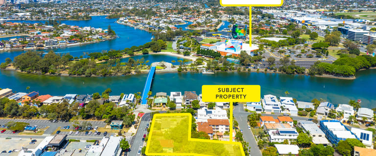 Development / Land commercial property for sale at Chevron Island QLD 4217