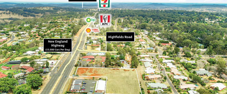 Development / Land commercial property for sale at 10492 New England Highway Highfields QLD 4352