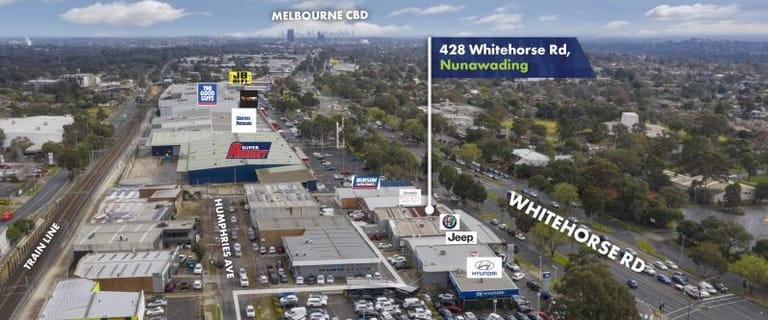 Showrooms / Bulky Goods commercial property for sale at 428 Whitehorse Road Nunawading VIC 3131