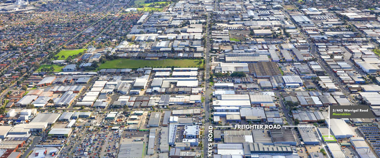 Factory, Warehouse & Industrial commercial property for sale at 5/445 Warrigal  Road Moorabbin VIC 3189