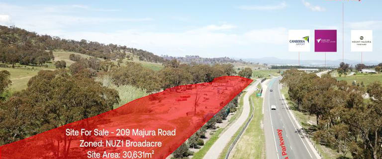 Development / Land commercial property for sale at Whole Site/209 Majura Road, Majura Pialligo ACT 2609