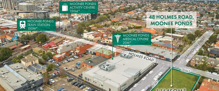 Development / Land commercial property for sale at 48 Holmes Road Moonee Ponds VIC 3039