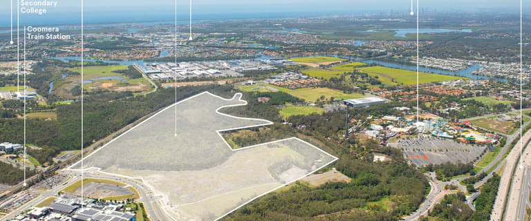 Development / Land commercial property for sale at 64 Foxwell Road Coomera QLD 4209