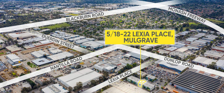 Offices commercial property for sale at 5/18-22 Lexia Place Mulgrave VIC 3170