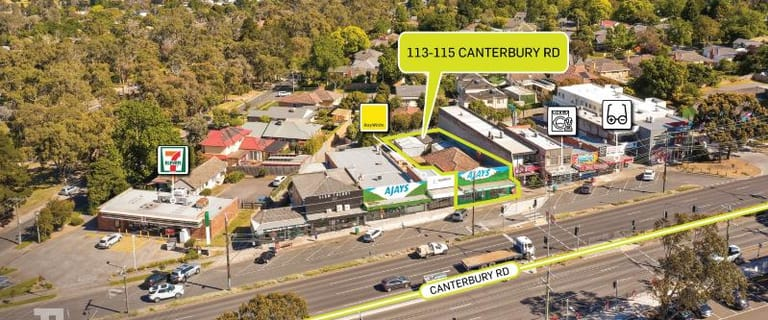 Development / Land commercial property for sale at 113-115 Canterbury Road Heathmont VIC 3135