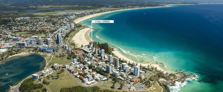 Development / Land commercial property for sale at 3 Hill Street Coolangatta QLD 4225