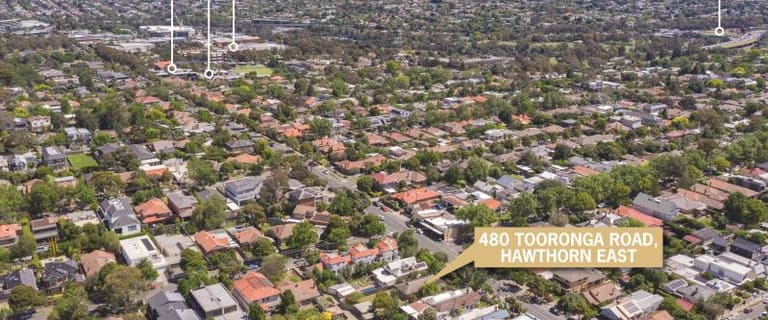 Development / Land commercial property for sale at 480 Tooronga Road Hawthorn East VIC 3123