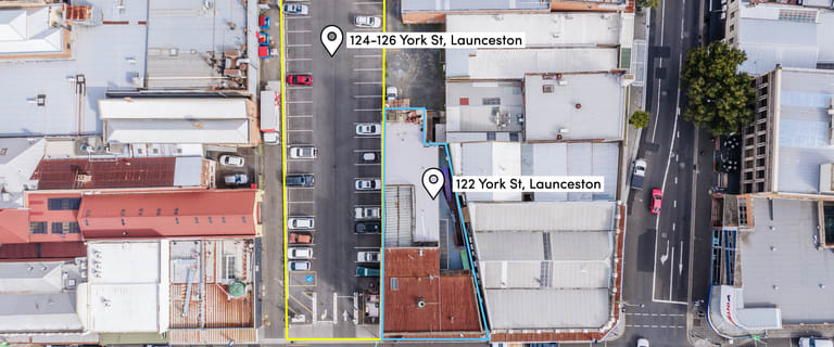 Hotel, Motel, Pub & Leisure commercial property for sale at 122 & 124-126 York Street Launceston TAS 7250