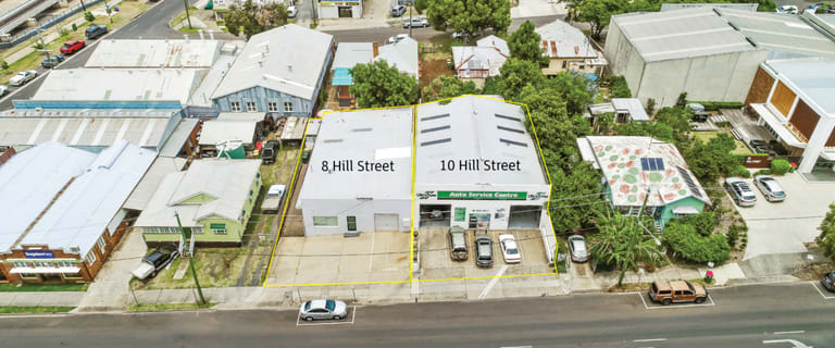 Showrooms / Bulky Goods commercial property for sale at 8 & 10 Hill Street Toowoomba QLD 4350