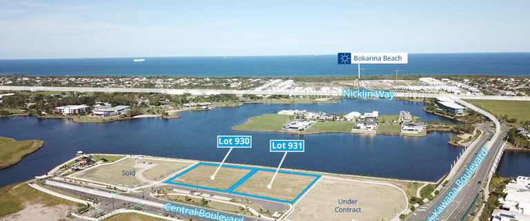 Development / Land commercial property for sale at Lots 930 & 931 Central Boulevard Birtinya QLD 4575