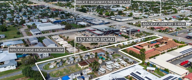 Development / Land commercial property for sale at 152 Nebo Road Mackay QLD 4740