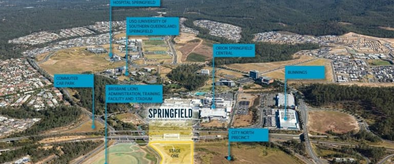 Shop & Retail commercial property for sale at Part of Lot 64 on SP291400 / proposed Lot 1 Springfield Central QLD 4300