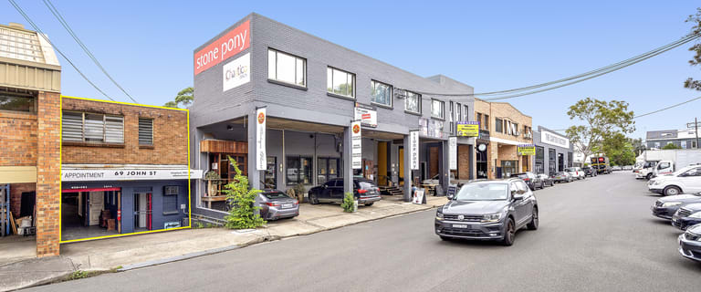 Factory, Warehouse & Industrial commercial property sold at 69 John Street Leichhardt NSW 2040