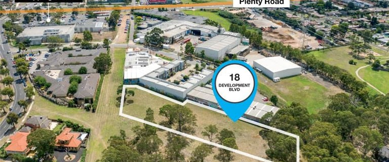 Development / Land commercial property for sale at 18 Development Boulevard Mill Park VIC 3082