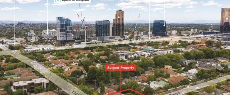 Development / Land commercial property for sale at 406 Elgar Road Box Hill VIC 3128