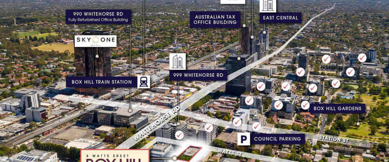 Development / Land commercial property for sale at 4 Watts Street Box Hill VIC 3128