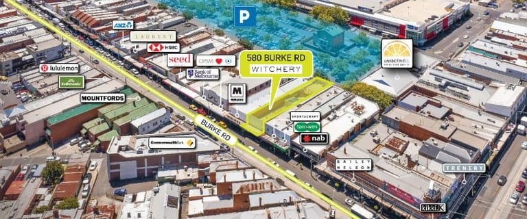 Shop & Retail commercial property for sale at 580 Burke Road Camberwell VIC 3124