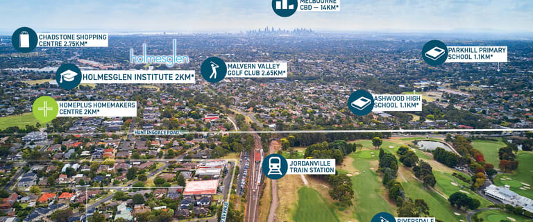 Development / Land commercial property for sale at 13 & 13A Windsor Avenue Mount Waverley VIC 3149