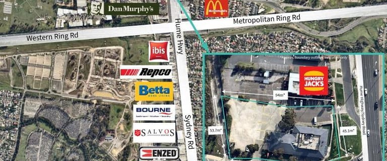 Shop & Retail commercial property for sale at 2-10 Camp Road Campbellfield VIC 3061
