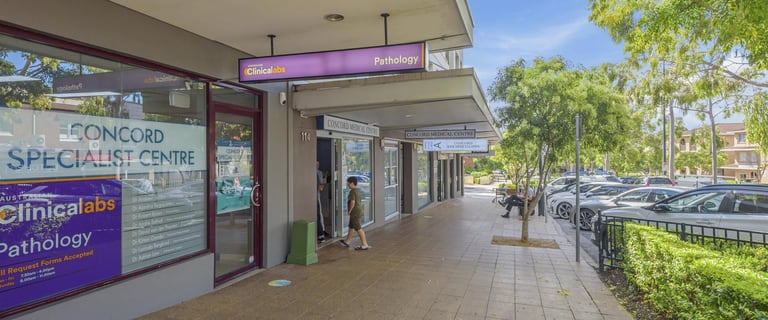 Shop & Retail commercial property sold at Shop 3/112 Majors Bay Road Concord NSW 2137