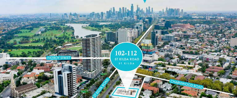 Development / Land commercial property for sale at 102-112 St Kilda Road St Kilda VIC 3182