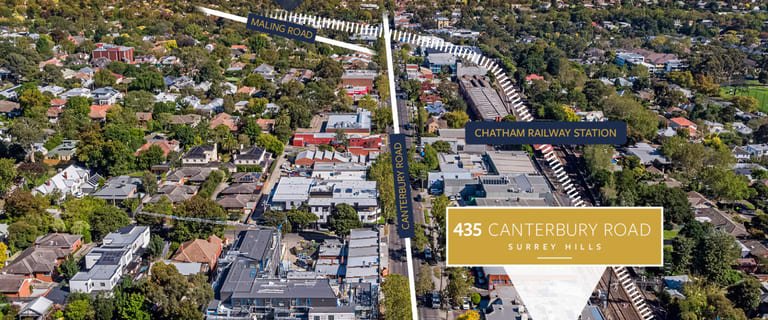 Development / Land commercial property for sale at 435 Canterbury Road Surrey Hills VIC 3127