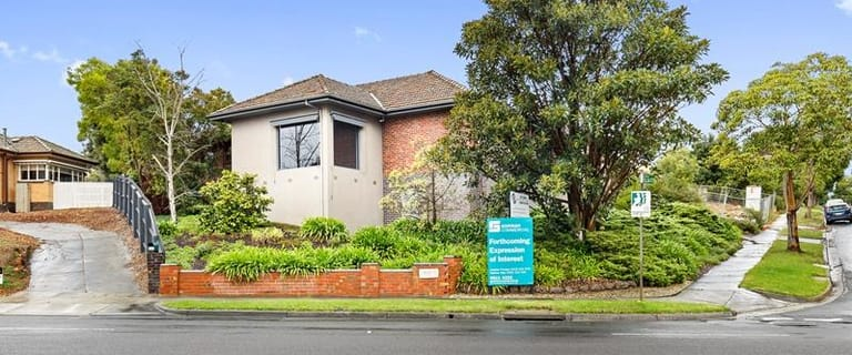 Medical / Consulting commercial property for sale at 1 Ellsa Street cnr Doncaster Road Balwyn North VIC 3104