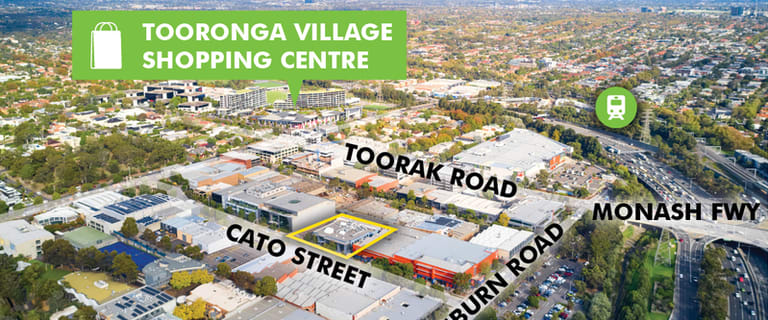 Offices commercial property for sale at 8 & 10 Cato Street Hawthorn East VIC 3123