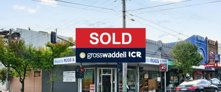 Shop & Retail commercial property sold at 383 Hampton Street Hampton VIC 3188